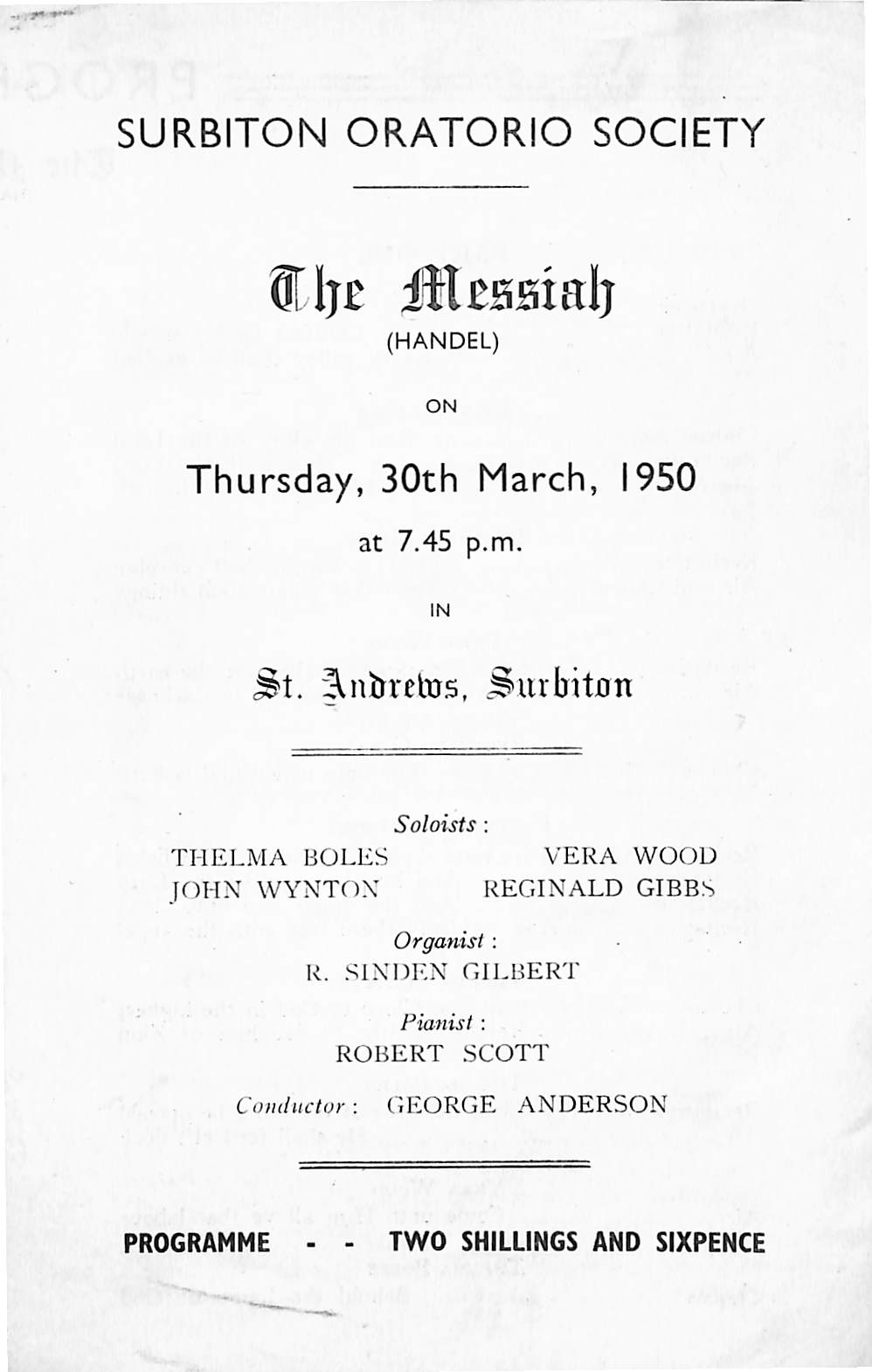 30 March 1950