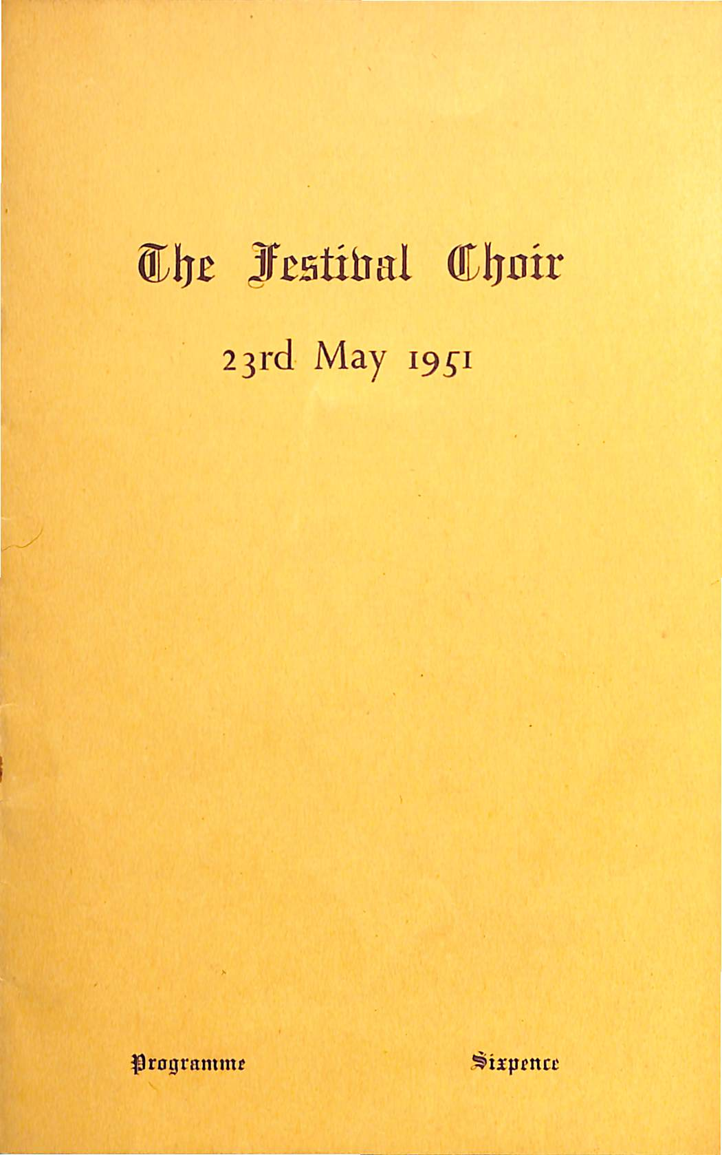 23 May 1951