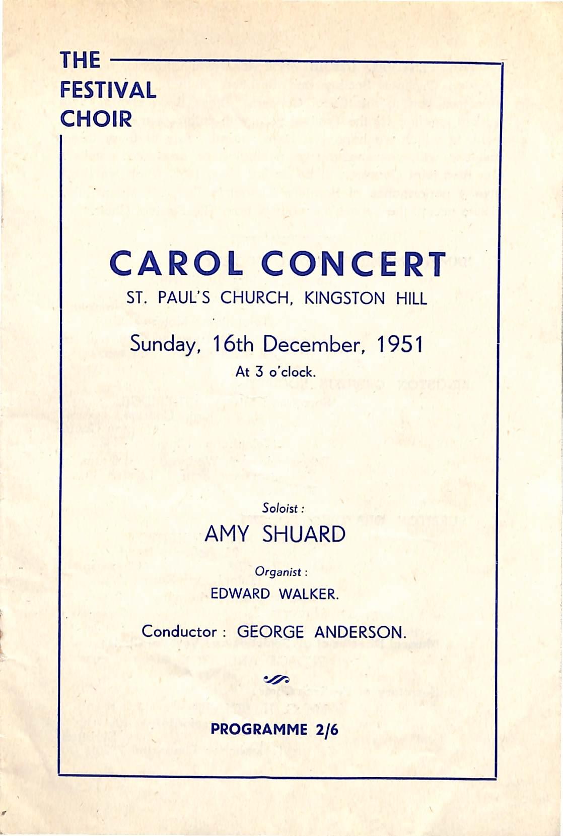 16 December 1951